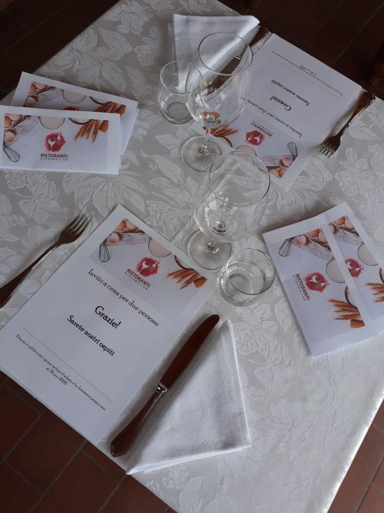 ristoranti Bergamo Solidarietà covid-19 Medici Infermieri invito a cena